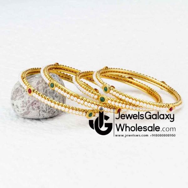 8c874237b834b Buy Guaranteed Gold Plated Bangles in bulk Online